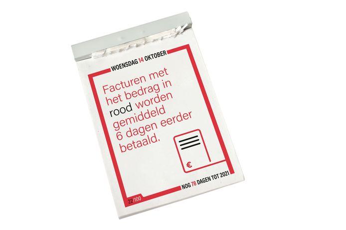 Een tip op 14 oktober op de Verscheurkalender van Multicopy.