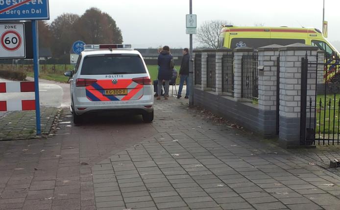 De 94-jarige man fietste op de Hoge Horst.