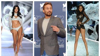 Matthias Schoenaerts op date met twee 'Victoria's Secret'-modellen
