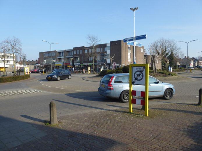 De rotonde die er nu ligt, voldoet het beste voor het verkeer in Berlicum aan het Mercuriusplein.