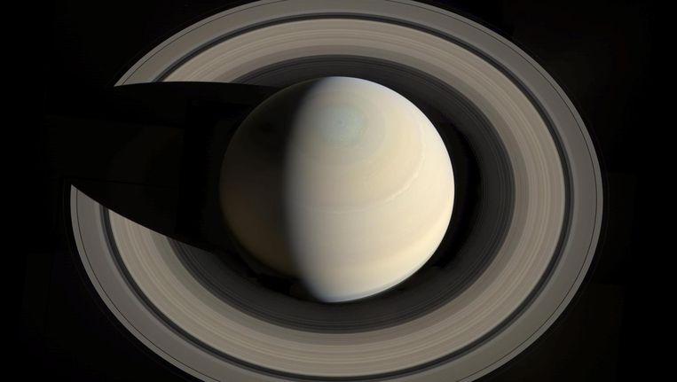 Saturnus met zijn ringen. Beeld Theo Audena