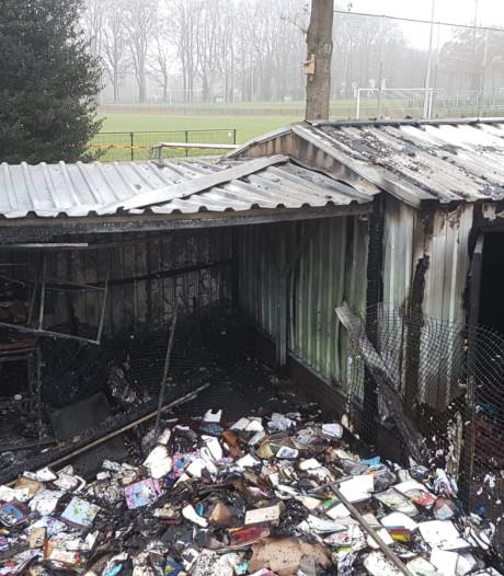 Brandstichting bij SV De Lutte