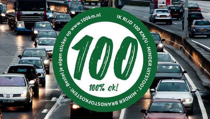 De broers Van Esch begonnen vorige maand een actie om maximaal 100 kilometer per uur te rijden in de strijd tegen het teveel aan stikstofuitstoot. Nu voert het kabinet die maatregel in.