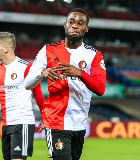 Feyenoord plaatst zich voor kwartfinales na moeizame zege op Heracles