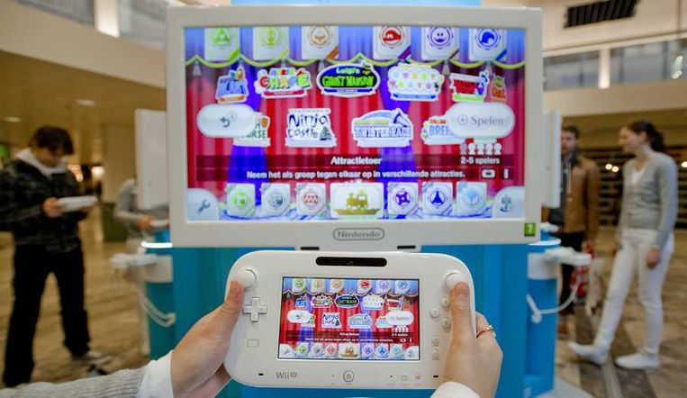 Wii U Beeld anp