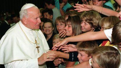 Bloedrelikwie van paus Johannes Paulus II komt week naar Halle