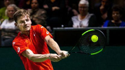 David Goffin weet na meer dan een maand weer wat winnen is - Van Uytvanck stoot door in Boedapest