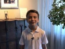Lucas (9) nieuwe kinderburgemeester van Dordrecht: 'Meer veiligheid en plezier op school!'