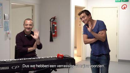 Mooi moment: Niels Destadsbader verrast fan in het ziekenhuis