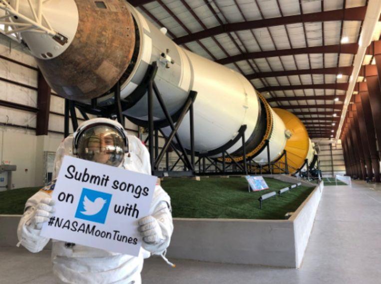 NASA wil suggesties voor astronauten-playlist.
