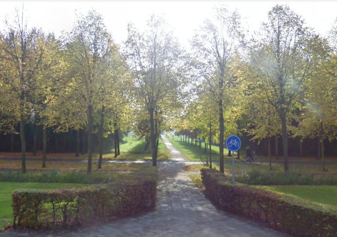 De entree van het Lumièrepark in Almere