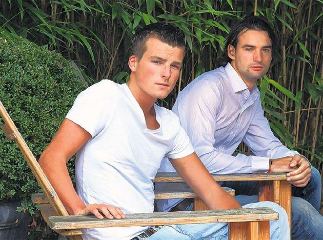 Laurens (23) rechts.