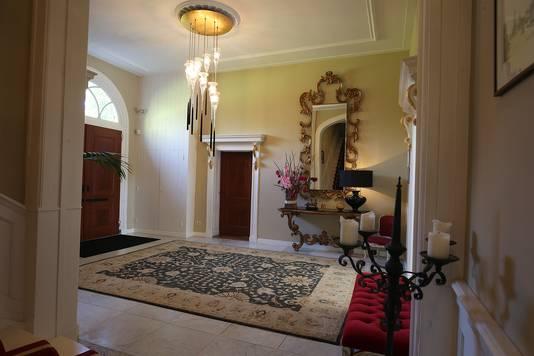De entreehal van Huis Landfort in Mechgelen.
