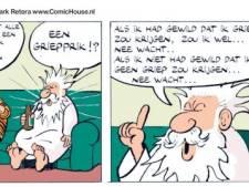 Moet dan nou? Een strip met God?