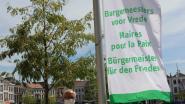 Oudenaarde hijst Mayors for Peace-vlag en vraagt wereld zonder kernwapens