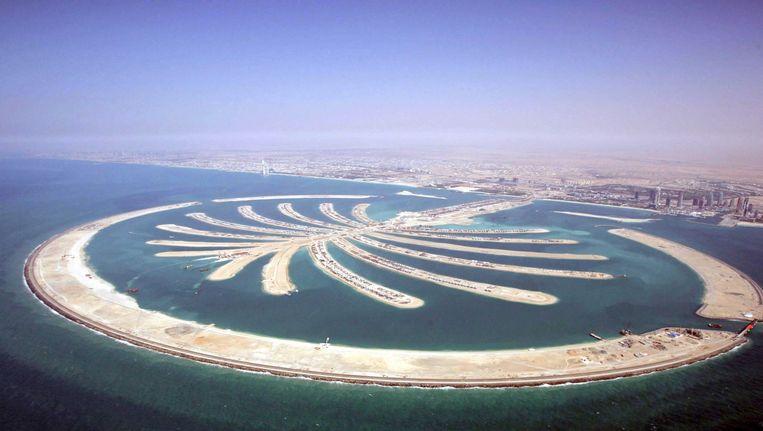 De palmeilanden in Dubai. Beeld anp