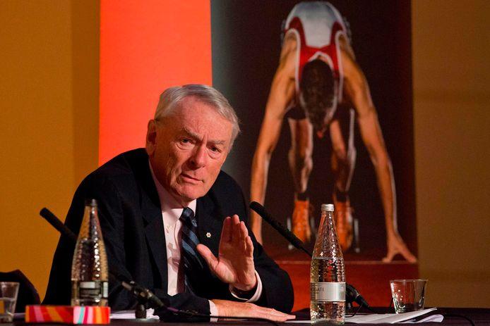 Dick Pound is gewezen voorzitter van de anti-dopinginstantie WADA.
