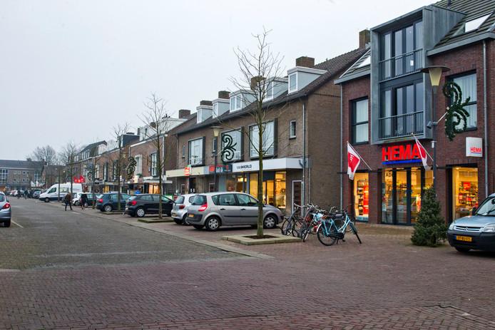 Het Piet van Thielplein in Beek en Donk.
