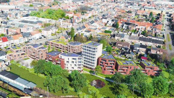 binnen 2 jaar zullen 84 appartementen verschijnen tussen de Ringlaan en de Liersesteenweg in Herentals