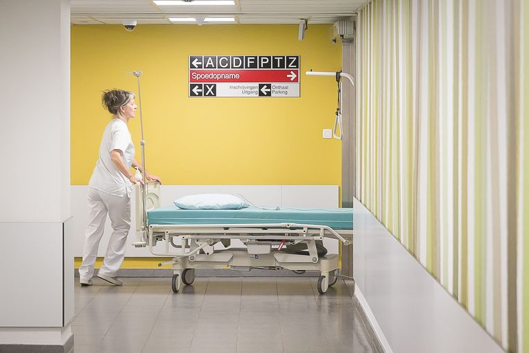 Illustration picture shows the OLV Onze-Lieve-Vrouw hospital, in Aalst, datetext. BELGA PHOTO JAMES ARTHUR GEKIERE