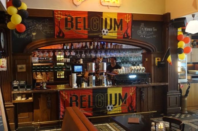 Café Anvers als 'Belgische ambassade'