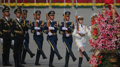 China maakt zich op voor grote militaire machtswissel