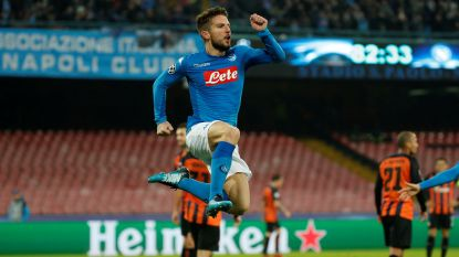 Mertens en Napoli behouden kans op overwintering in Champions League, 15 op 15 voor De Bruyne na winst van Feyenoord