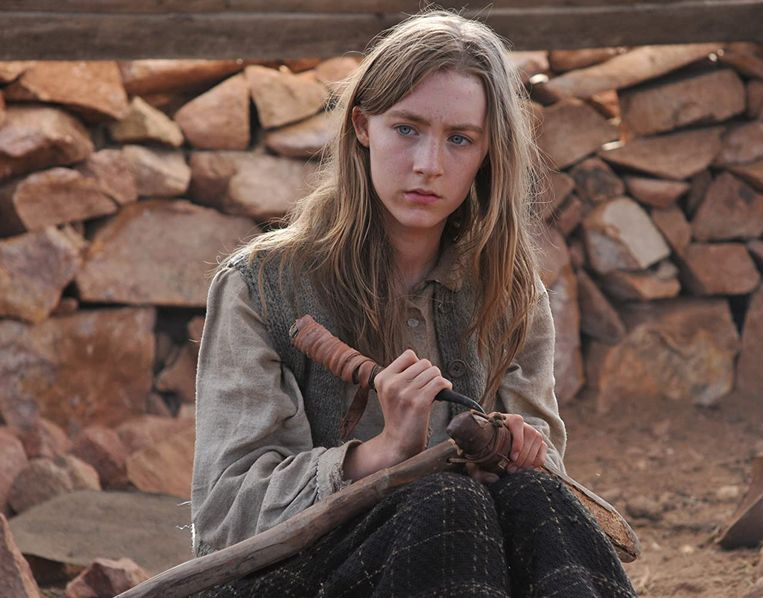 Saoirse Ronan in The Way Back (Peter Weir, 2010). Beeld
