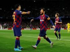 Messi en Suárez schitteren voor Barcelona, Lukaku en Martínez voor Inter