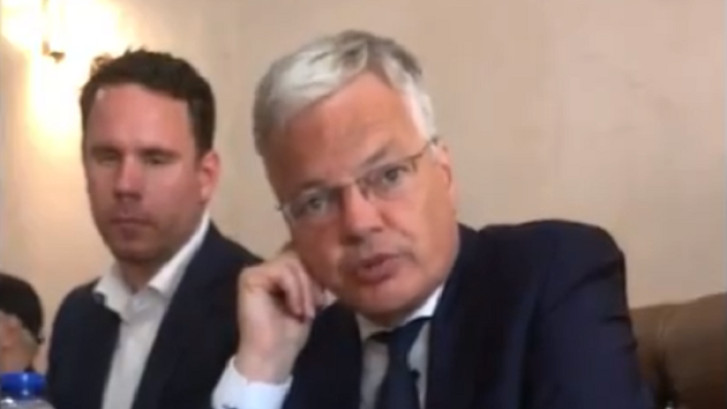Abattage rituel: la vidéo qui embarrasse Didier Reynders