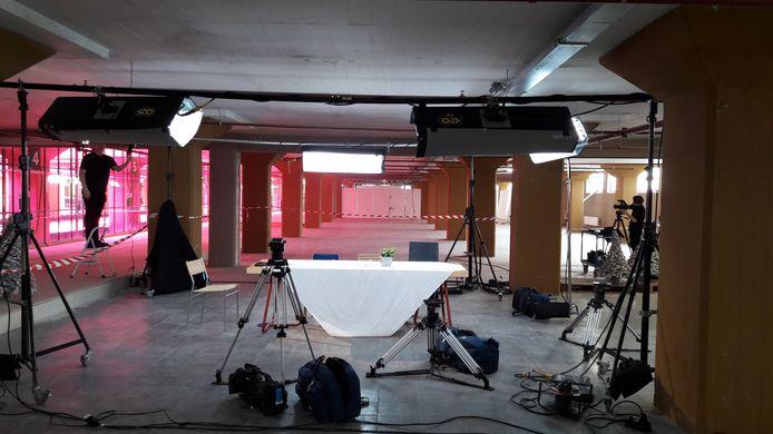 De set van DDW Live, elke dag om 12 uur tijdens de DDW