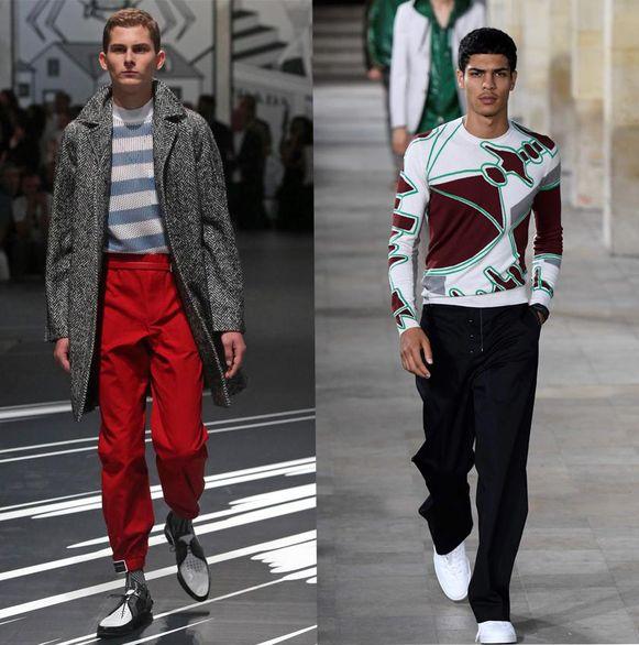 Prada & Hermès.