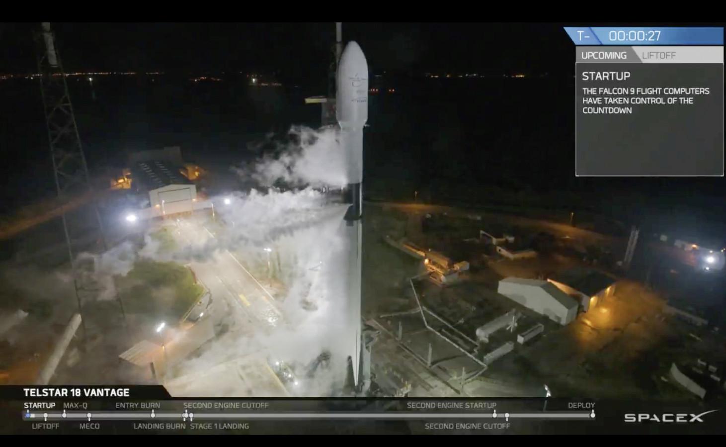 De Block 5-configuratie van de Falcon 9 is het resultaat van 'belachelijk' hard werken, zegt SpaceX-baas Elon Musk.