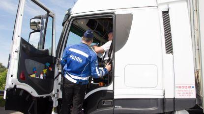 Controle van zwaar vervoer op Krijgsbaan: 21 inbreuken