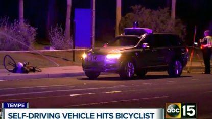 Eerste dodelijk slachtoffer met zelfrijdende wagen: Uber rijdt vrouw aan