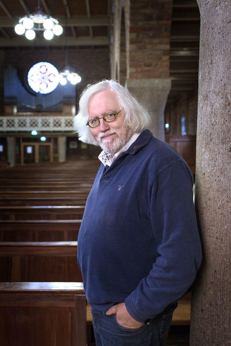 Erik Borgman: 'De kerk blijft sacrament, net zoals God blijft, ook als mensen niet meer in hem geloven.' Beeld Jörgen Caris