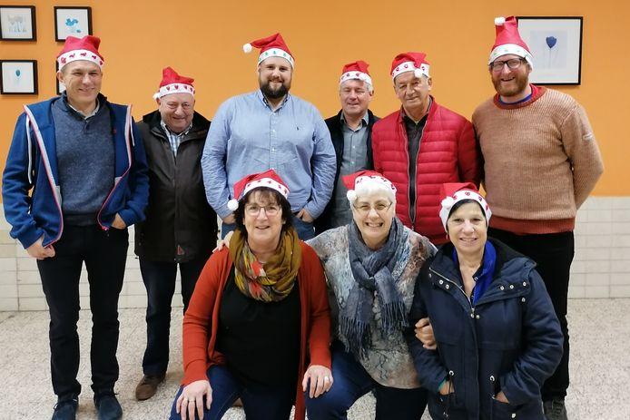 De orsmaalse verenigingen zetten zich in voor de Warmste Week met een kersttractorrun en een fakkeltocht