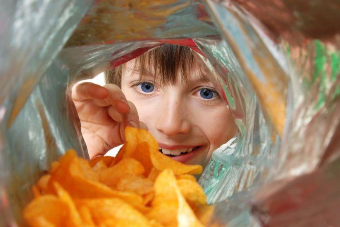 Chips is populair als traktatie tijdens de coronacrisis.