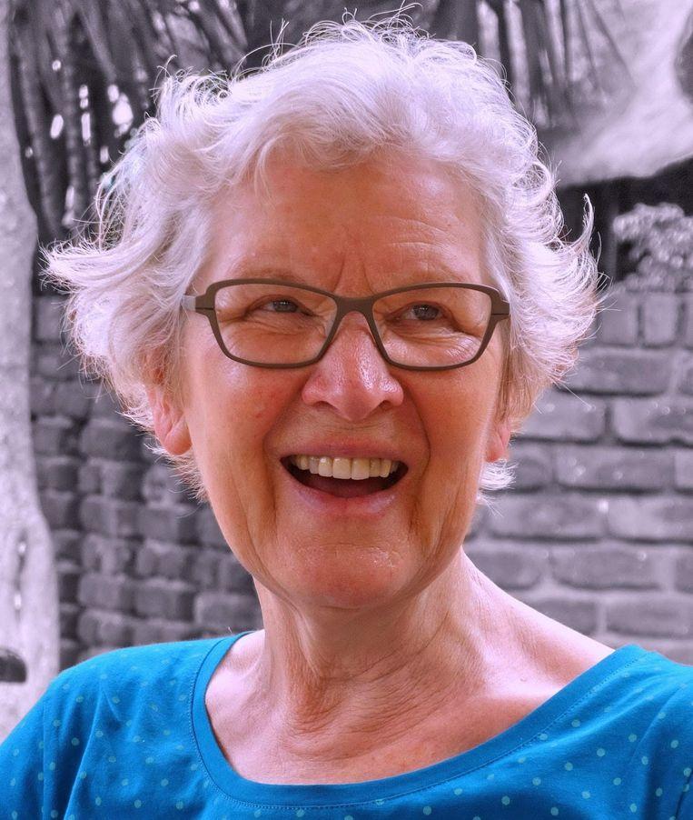 Jelly Drijfhout benadrukte dat het doel van kinderopvang niet alleen was ouders te ontlasten, maar ook de kinderen wat mee te geven. Beeld