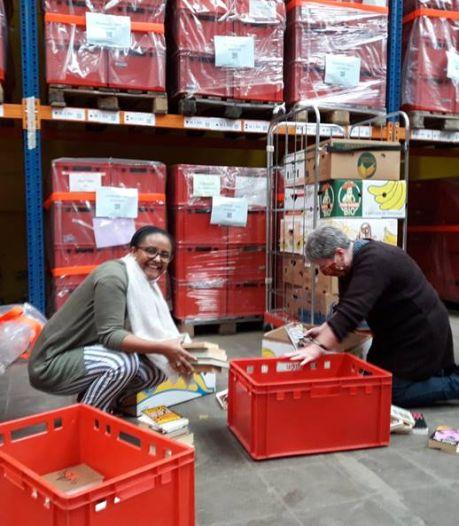 Ethiopische kinderen aan de slag met Antwerpse boeken: Kringwinkels steunen nieuwe bibliotheek met grote schenking