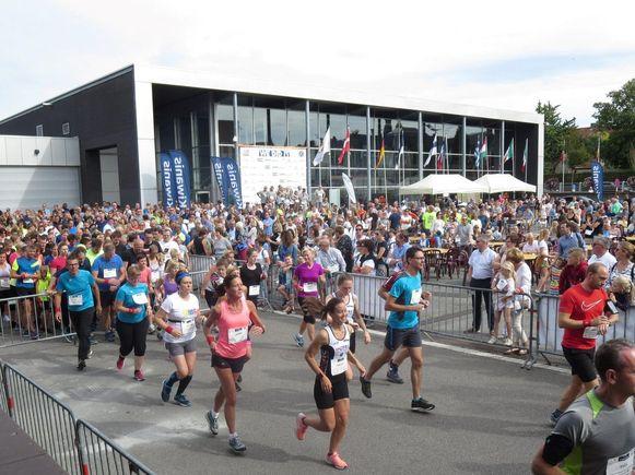 In 2018 stonden 1.200 deelnemers aan de start van de City Trail in Tielt.