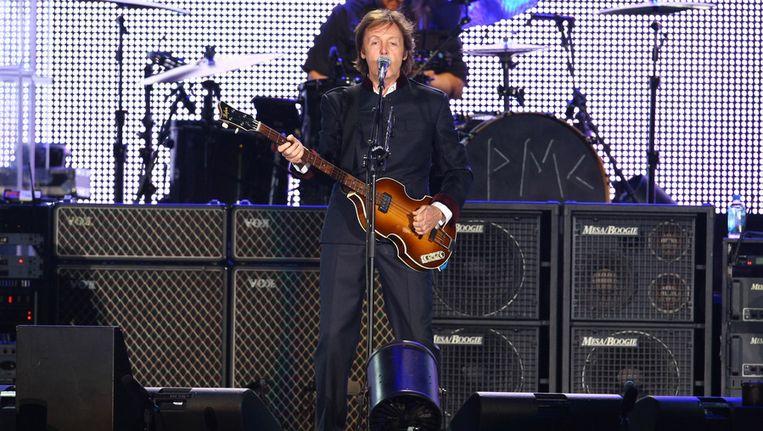 Paul McCartney. Beeld getty