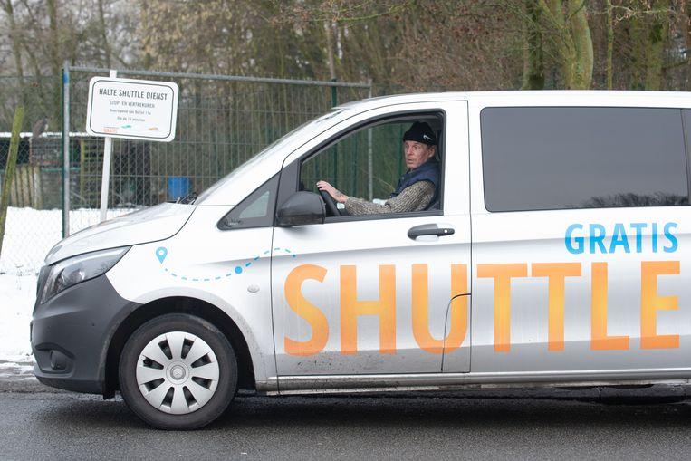 De shuttle blijft gratis.