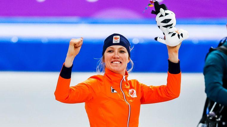 Carlijn Achtereekte: 'Een race voor het eind wist ik dat ik brons had' Beeld anp