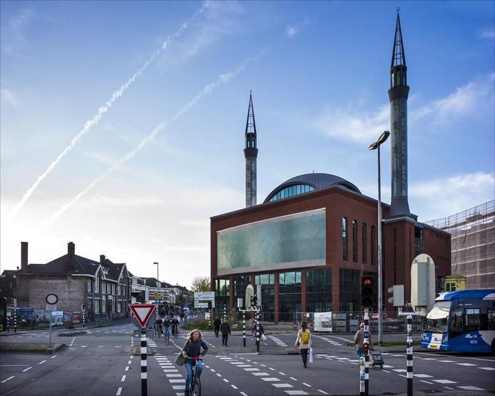 De Utrechtse Ulu-moskee in de Utrechtse wijk Lombok.