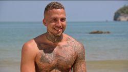 'Temptation' Zach heeft de naam van een verleidster laten tatoeëren