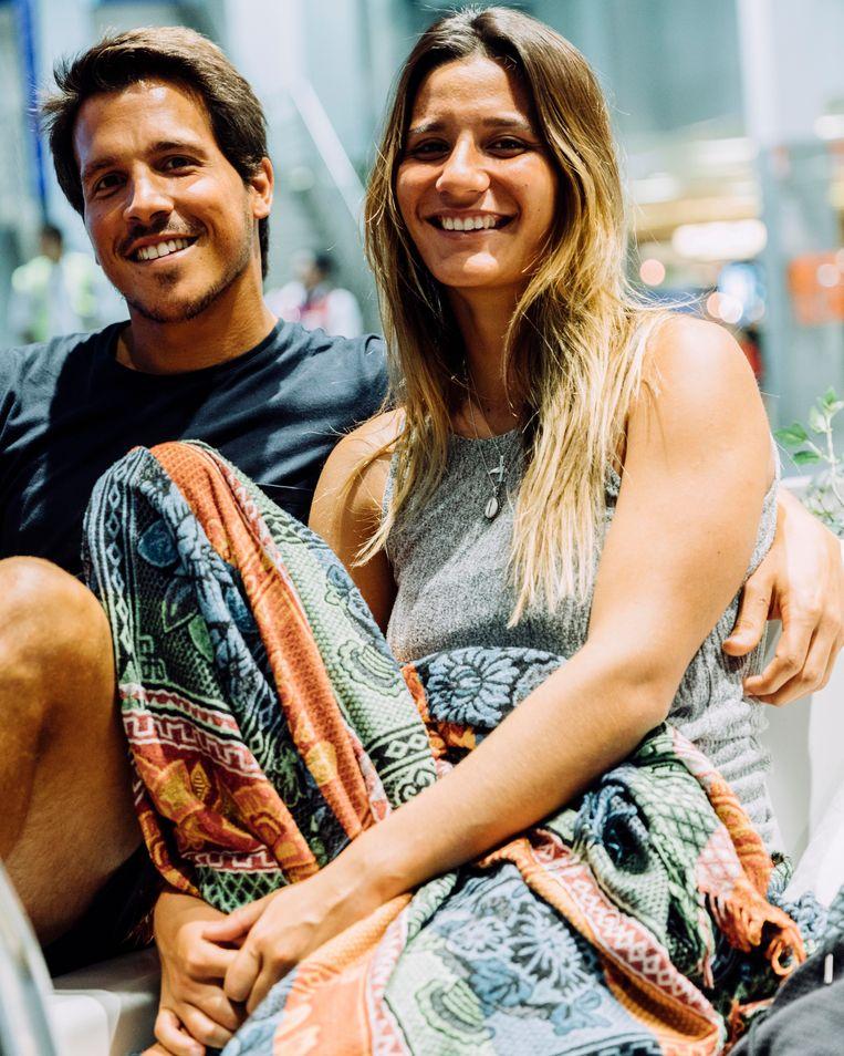 Bruno en Sofia Picao. Beeld Rebecca Fertinel