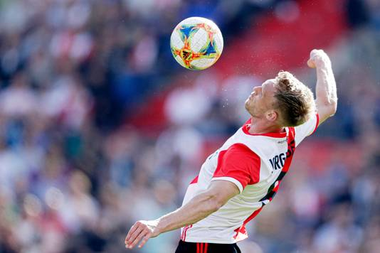 Nicolai Jörgensen maakte zijn rentree na maandenlang blessureleed.