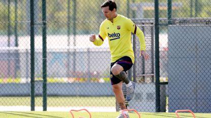New look Messi schenkt 500.000 euro aan Argentijnse ziekenhuizen