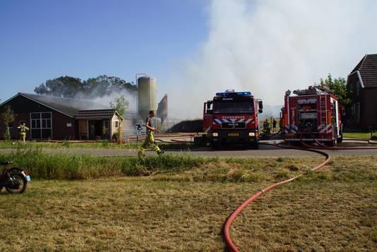 De schuurbrand in Beltrum